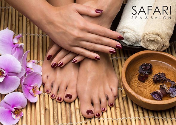 Esthetic Services offered at Safari Spa & Salon