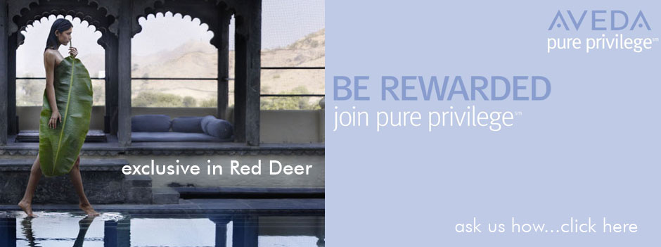 Aveda Pure Privelege - Be Rewarded. Join Pure Privelege.